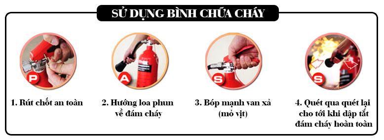 Hướng Dẫn Cách Sử Dụng Bình Chữa Cháy Bột