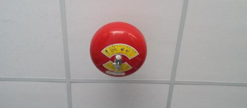 Vị Trí Lắp đặt Quả Cầu Chữa Cháy 8kg Xzftb8