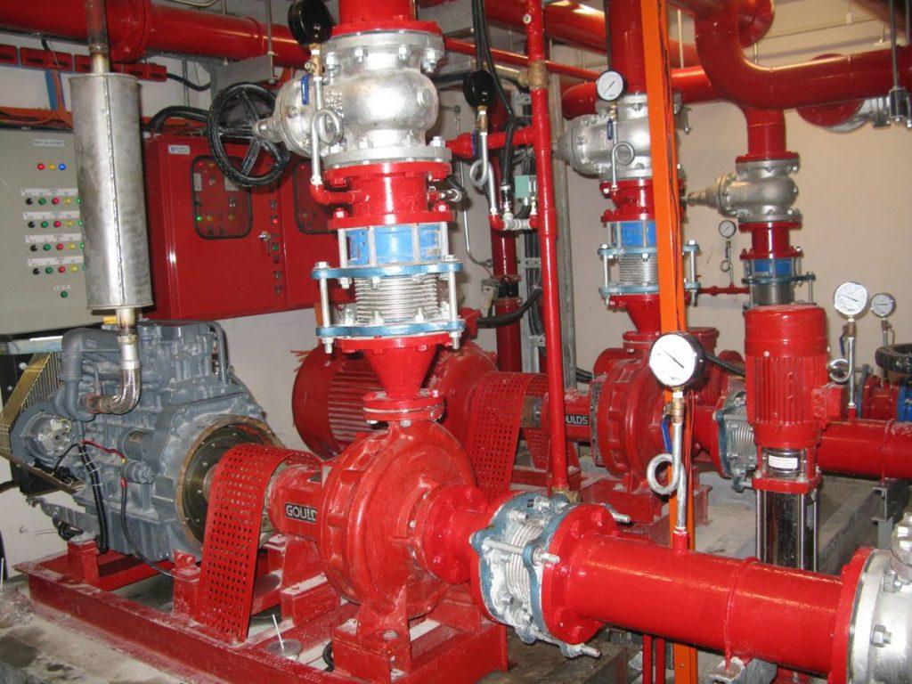 Hệ thống nạp bình chữa cháy đạt chuẩn