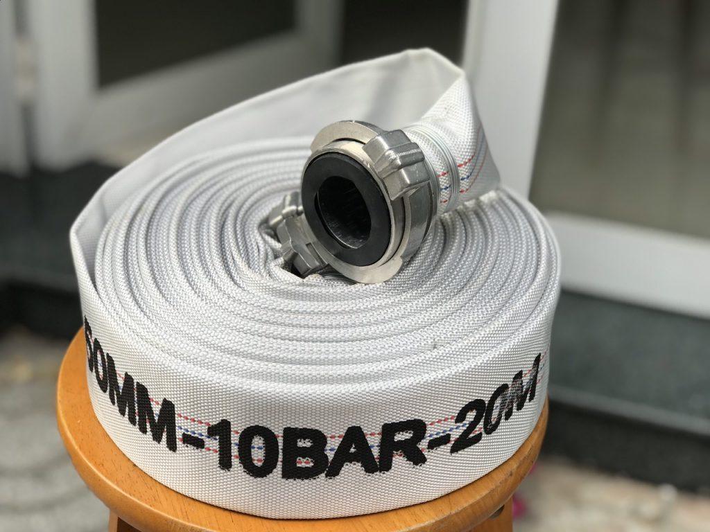 Vòi Chữa Cháy Tq Phi 50mm, 10bar, Dài 20m