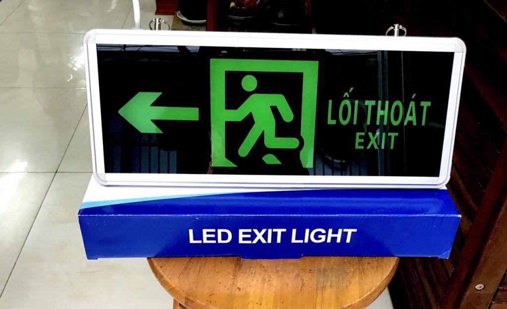 Đèn Exit 2 Mặt Chỉ Hướng