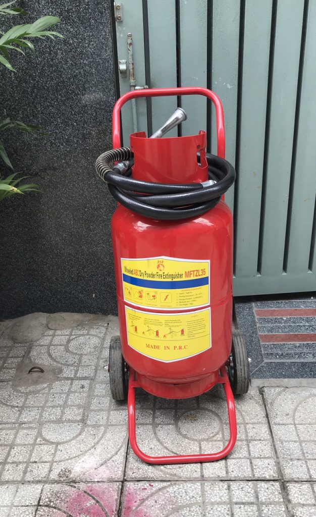 Bình Chữa Cháy Bột Abc 35kg Mftzl35