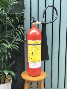 Bình Chữa Cháy Khí Co2 5kg Mt5 Có Tem Kiểm định