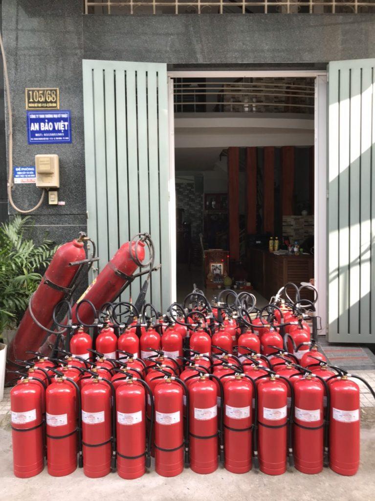 Dịch Vụ Nạp Sạc Bình Chữa Cháy Uy Tín đạt Chuẩn An Bảo Việt