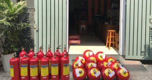 Trang thiết bị bình chữa cháy