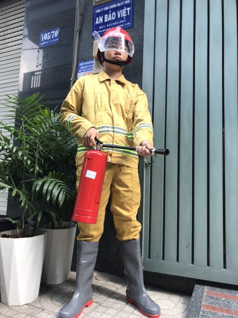 Trang Phục Chữa Cháy Theo Thông Tư 48 đã Qua Kiểm định