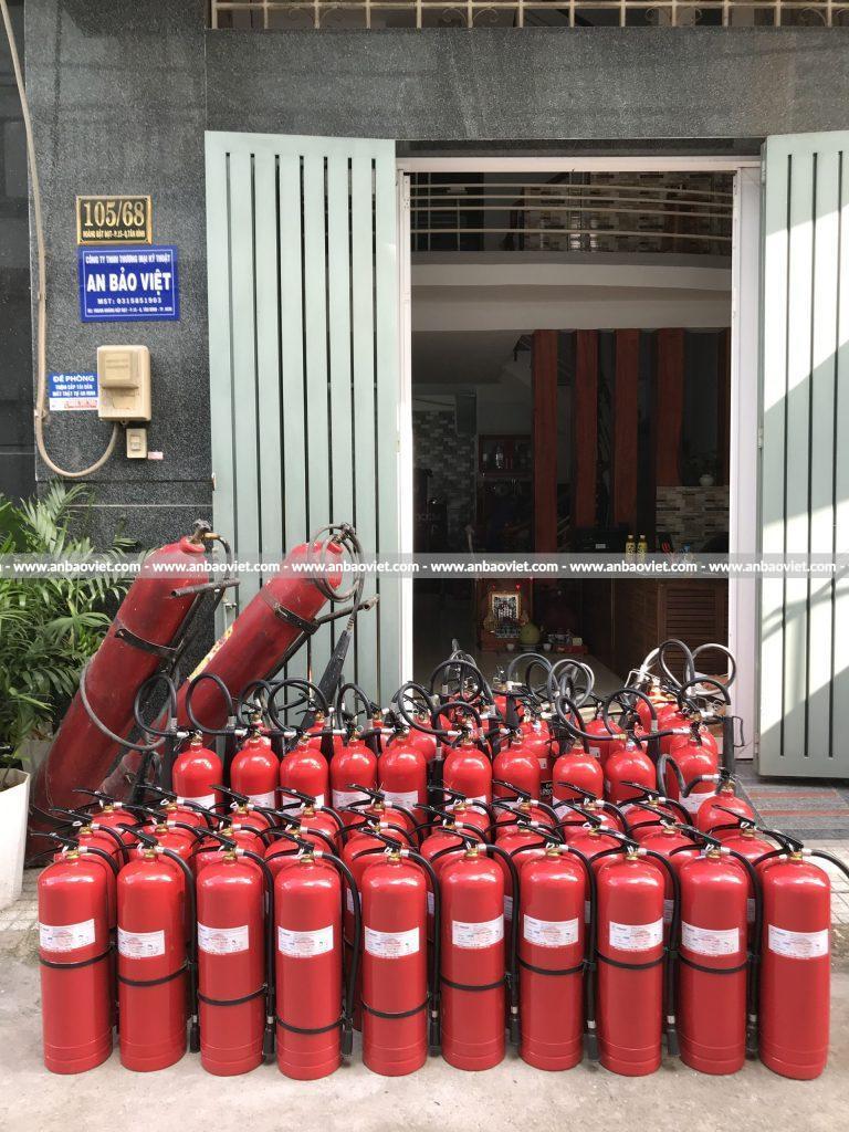 TTrang thiết bị pccc - bình chữa cháy
