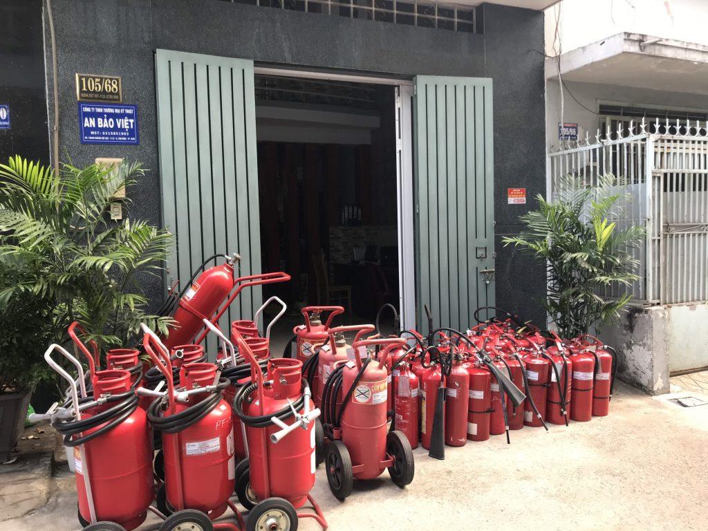 Nạp bình chữa cháy tại An Bảo Việt