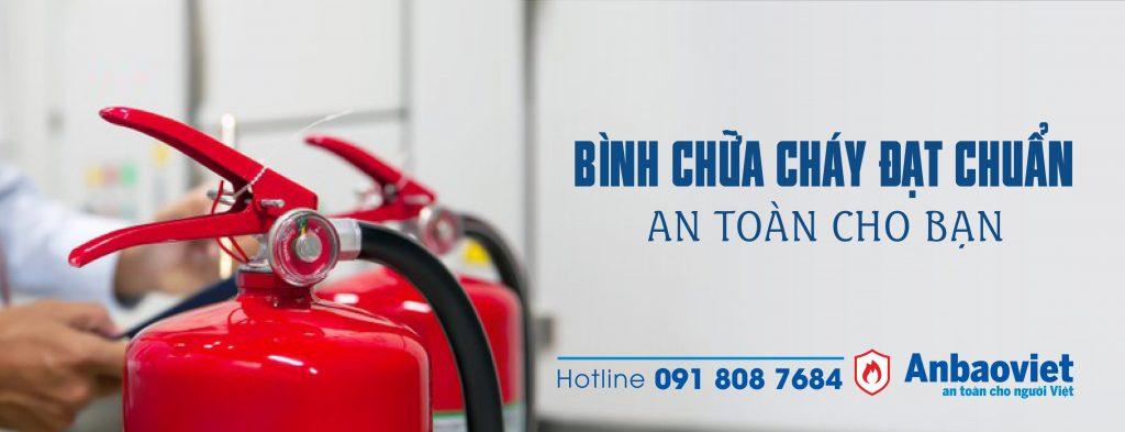 Cung Cap Binh Chua Chay Dat Chuan