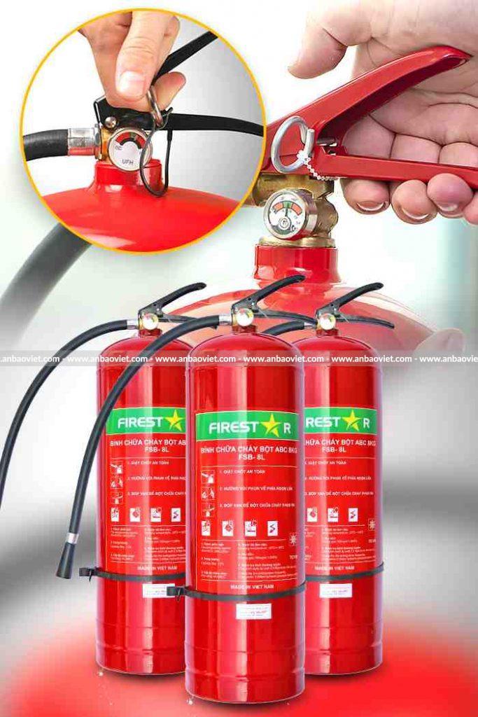 Kiểm tra nạp bình chữa cháy