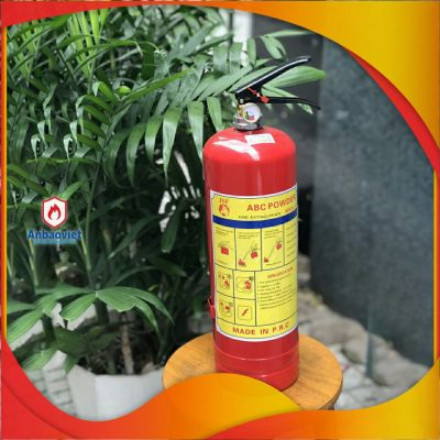 1.1 Bình Chữa Cháy Bột Abc 4kg Mfzl4 Có Tem Kiểm định
