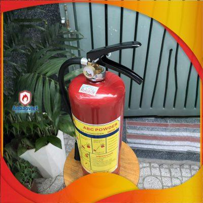 1.2 Bình Chữa Cháy Bột Mfzl4 Có Tem Kiểm định