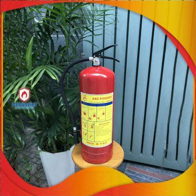 2.1 Bình Chữa Cháy Bột 8kg Mfzl8 Có Tem Kiểm định